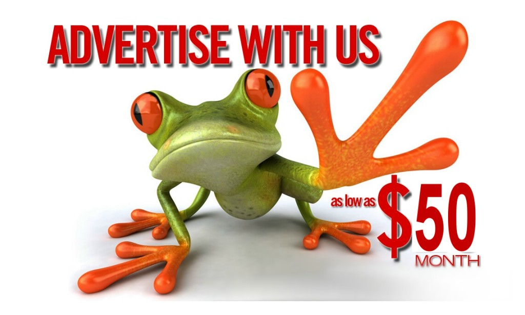 Frog Ad Here